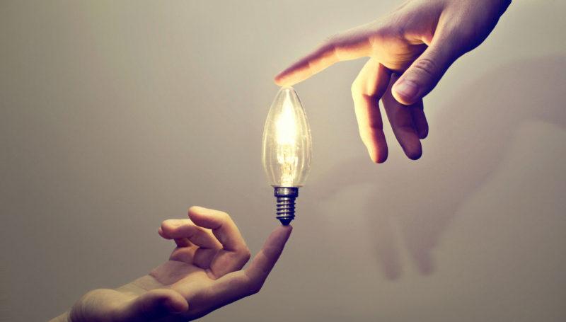 mindset, idea, light